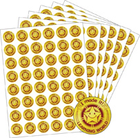 Learning World Gold | Stickers