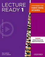 Lecture Ready: Second Edition Level 1 | Student Book Pack