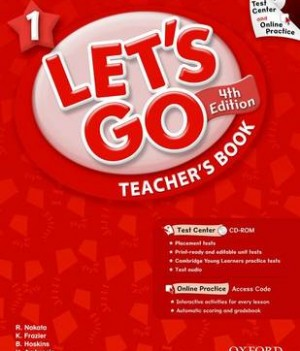 Let's Go: Fourth Edition - Level 1 | Teacher's Book with Test Center Pack
