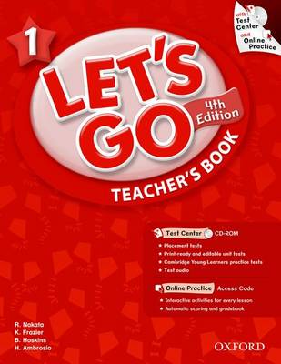 Let's Go: Fourth Edition - Level 1   Teacher's Book with Test Center Pack