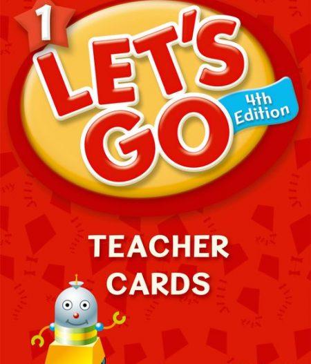 Let's Go: Fourth Edition - Level 1   Teacher Cards (205)
