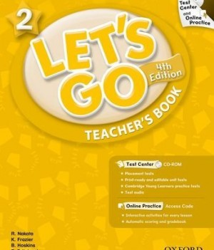 Let's Go: Fourth Edition - Level 2 | Teacher's Book with Test Center Pack