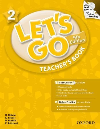 Let's Go: Fourth Edition - Level 2   Teacher's Book with Test Center Pack