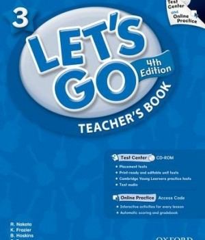 Let's Go: Fourth Edition - Level 3 | Teacher's Book with Test Center Pack