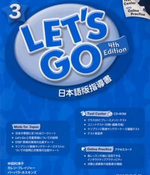 Let's Go: Fourth Edition - Level 3 | Teacher's Book+TestCenterPK(Japanese)