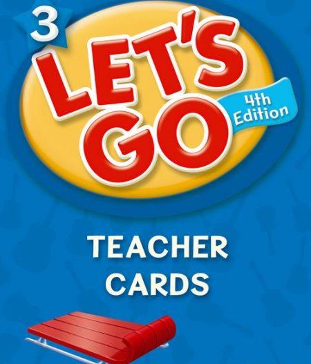 Let's Go: Fourth Edition - Level 3   Teacher Cards (188)