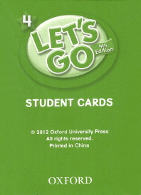 Let's Go: Fourth Edition - Level 4 | Student Cards (215)
