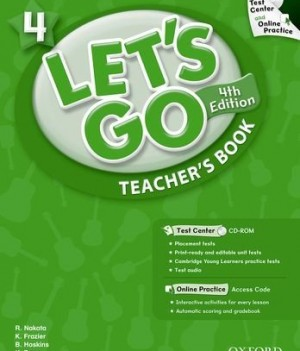 Let's Go: Fourth Edition - Level 4 | Teacher's Book with Test Center Pack