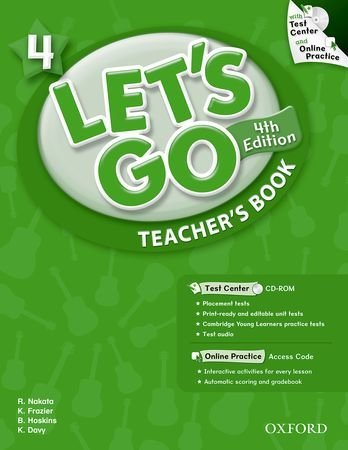 Let's Go: Fourth Edition - Level 4   Teacher's Book with Test Center Pack