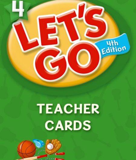 Let's Go: Fourth Edition - Level 4   Teacher Cards (215)