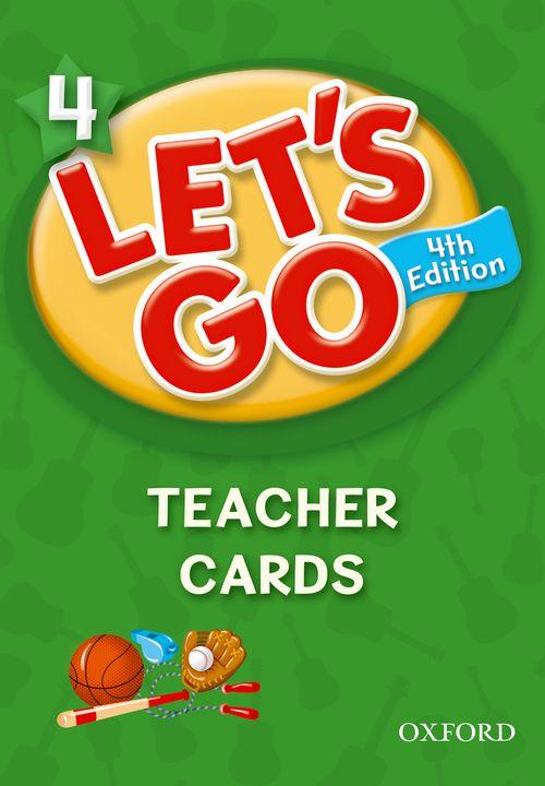 Let's Go: Fourth Edition - Level 4 | Teacher Cards (215)
