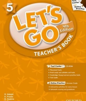 Let's Go: Fourth Edition - Level 5 | Teacher's Book with Test Center Pack