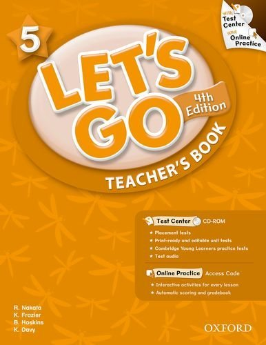 Let's Go: Fourth Edition - Level 5   Teacher's Book with Test Center Pack