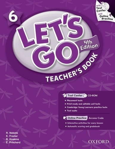 Let's Go: Fourth Edition - Level 6   Teacher's Book with Test Center Pack