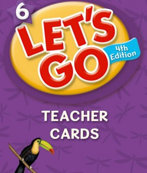Let's Go: Fourth Edition - Level 6 | Teacher Cards (168)