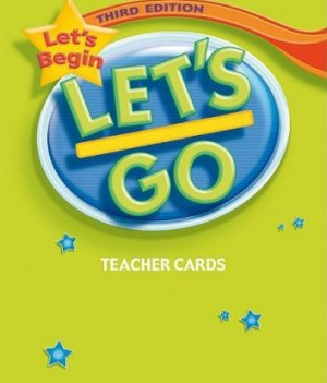 Let's Go: Third Edition - Let's Begin | Teacher's Cards (135)