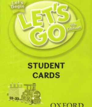 Let's Go: Fourth Edition - Let's Begin | Student Cards (161)