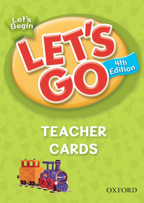 Let's Go: Fourth Edition - Let's Begin | Teacher Cards (161)