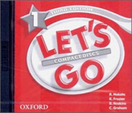 Let's Go: Third Edition - Level 1 | Audio CD (2)