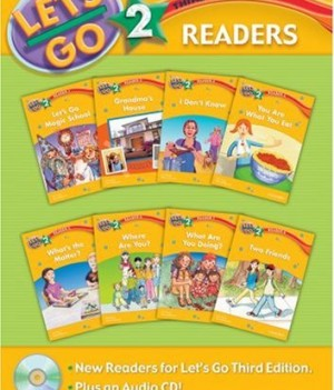 Let's Go: Third Edition - Level 2 | Readers Pack with Audio CD (8 titles)