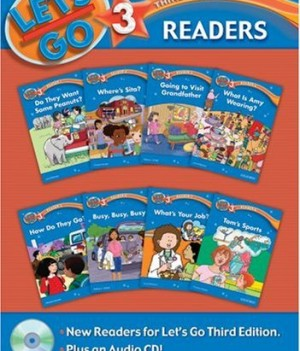 Let's Go: Third Edition - Level 3 | Readers Pack with Audio CD (8 titles)