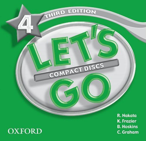 Let's Go: Third Edition - Level 4 | Audio CD (3)