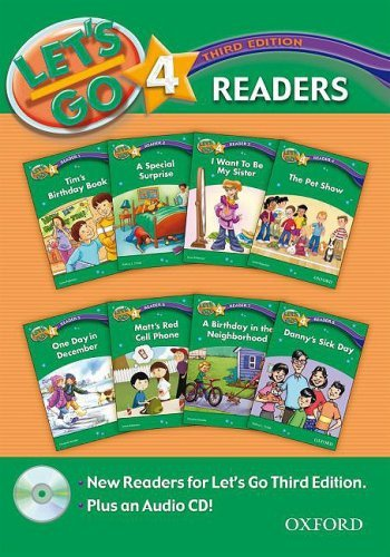 Let's Go: Third Edition - Level 4 | Readers Pack with Audio CD (8 titles)