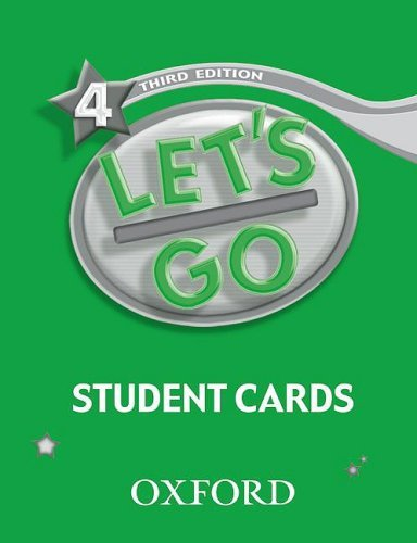 Let's Go: Third Edition - Level 4 | Student Cards (177)