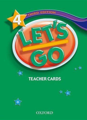 Let's Go: Third Edition - Level 4   Teacher's Cards (177)