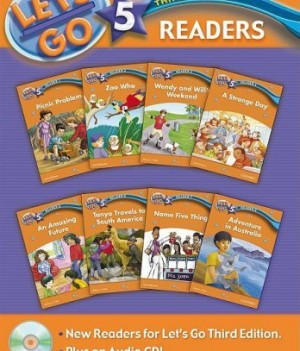 Let's Go: Third Edition - Level 5 | Readers Pack with Audio CD (8 titles)
