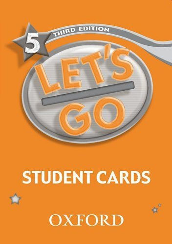 Let's Go: Third Edition - Level 5 | Student Cards (121)