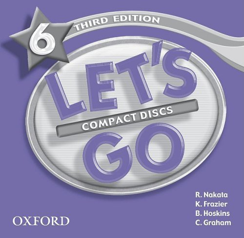 Let's Go: Third Edition - Level 6 | Audio CD (3)
