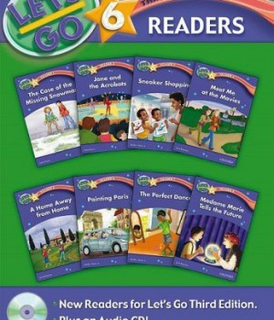 Let's Go: Third Edition - Level 6 | Readers Pack with Audio CD (8 titles)