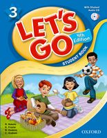Let's Go: Fourth Edition - Level 3 | Student Book with Audio CD Pack