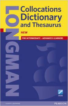 Longman Collocations Dictionary and Thesaurus | Paper with Online