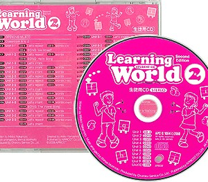 Learning World Book 2 | Student CD