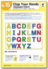 No. 15 Clap Your Hands (Alphabet Chart) | Teacher's Aids