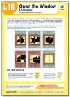 No. 16 Open the Window (Animals)   Teacher's Aids