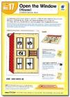 No. 17 Open the Window (House)   Teacher's Aids