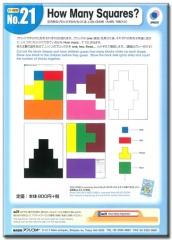 No. 21 How Many Squares  | Teacher's Aids
