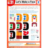 No. 31 Let's Make a Face | Teacher's Aids