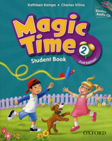 Magic Time: Second Edition - Level 2 | Student Book and Audio CD Pack
