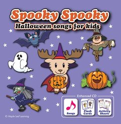 Spooky Spooky Halloween Songs for Kids | Enhanced CD