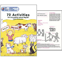 72 Activities: For elementary school English | Teacher's Book (English)