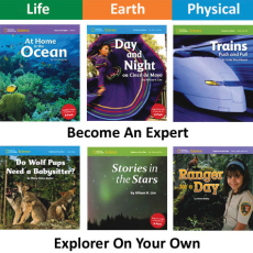 NG Science: Grade 1-2  | Explorer On Your Own Library Set (36 titles)