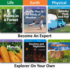 NG Science: Kindergarten  | Explorer On Your Own Library Set (18 titles)