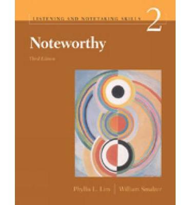 Noteworthy | e-Book