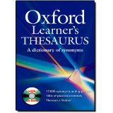 Oxford Learner's Thesaurus | Paperback with CD-ROM