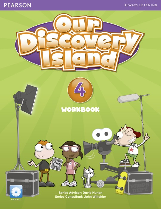Our Discovery Island 4 |  Japan Workbook+CD