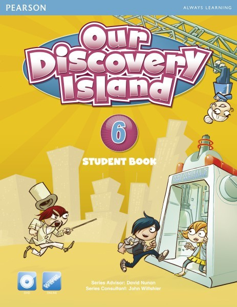 Our Discovery Island 6 |  JapanStudent Book+DVD
